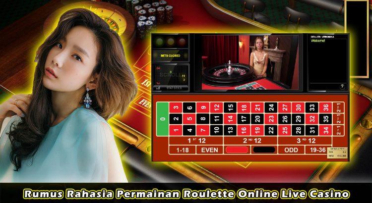 Rumus Rahasia Permainan Roulette Online Live Casino
